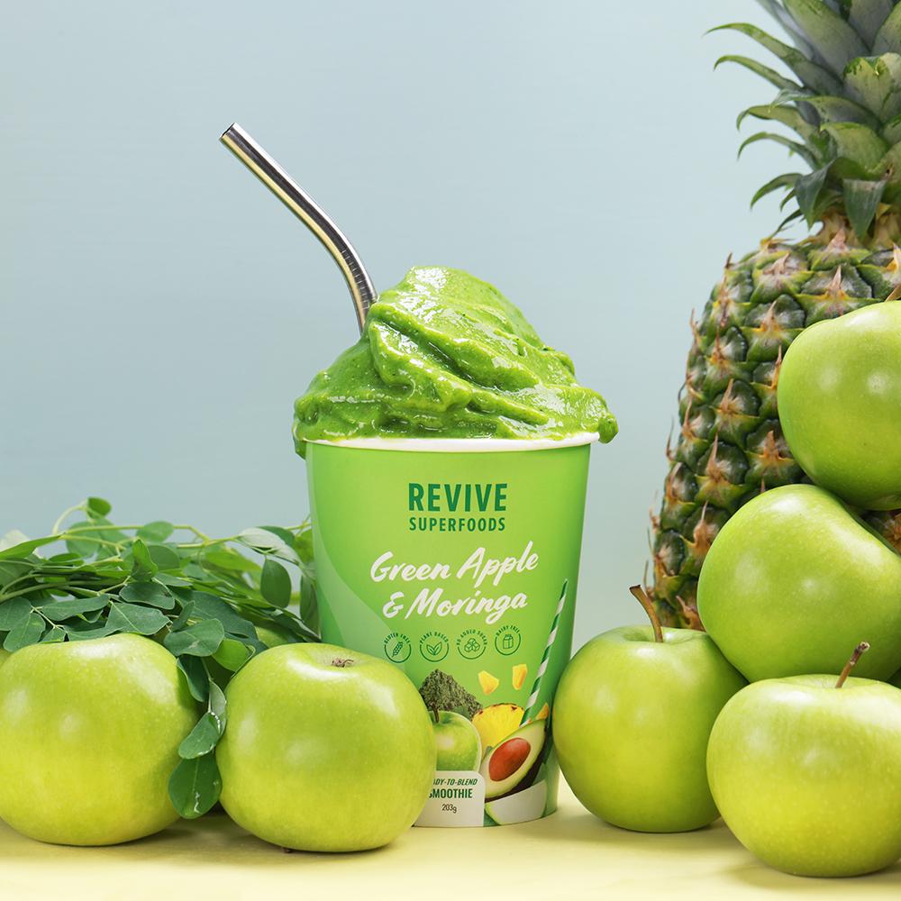 Green Apple & Moringa